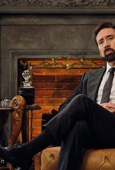 Nicolas Cage in 'History of Swear Words,' premiering Tuesday