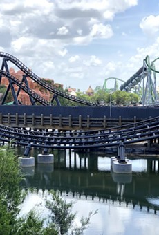 Velocicoaster at Universal Islands of Adventure