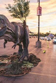 Jurassic Quest Drive Thru promises 'realistic' scenes of dinosaur mayhem at the Orange County Convention Center