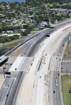 John Young Parkway under I-4 is closing nightly for the rest of February