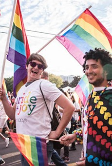 Orlando Come Out With Pride festivities in 2016
