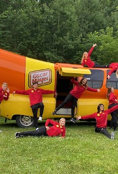 Oscar Mayer's Weinermobile rolls into Orlando on Friday