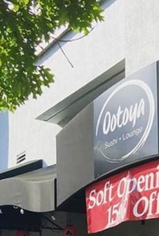 Ootoya Sushi Lounge opens on March 16.