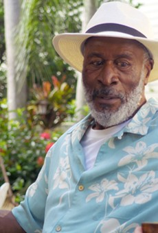 "Ashley Jones and John Amos star in ""Because of Charley,"" this year's opening film."