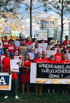 Florida senators level attack on teachers unions