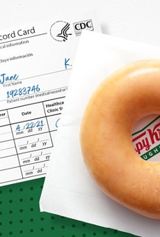 Krispy Kreme offers free donut to anyone who gets vaccinated