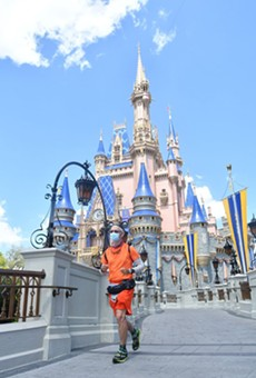 Muchow finishes final stretch of his run to Walt Disney World