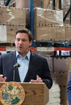With less than 30% of Florida fully vaccinated, Gov. Ron DeSantis is pushing unemployed Floridians back to work