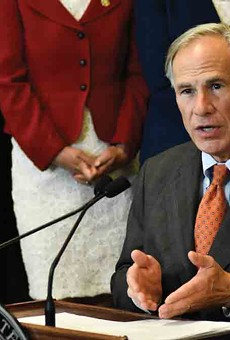 """Texas Gov. Greg Abbott declared mask mandates illegal because """"Texans, not gov't, should decide their best health practices."""" Exceptions apply, apparently."""