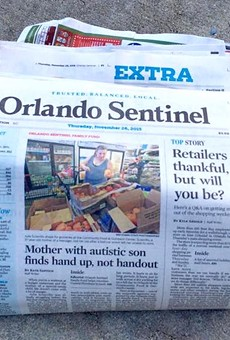 Alden Global saddles 'Orlando Sentinel' parent company with $278 million in debt following sale
