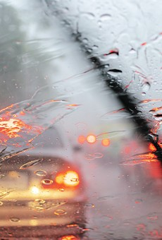 Floridians will be allowed to turn on their hazards during heavy rain under new law.