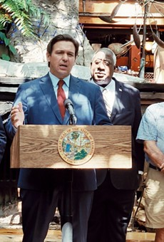 Florida Gov. Ron DeSantis nixed two line items from the state budget that would have provided for Pulse shooting survivors, LGBT youth.