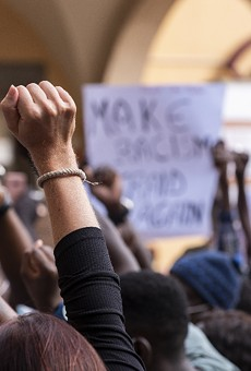 Florida Gov. Ron DeSantis and Attorney General Ashley Moody are asking for one of the lawsuits against their recently passed anti-protest law to be thrown out.