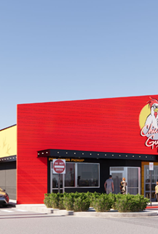 Here's a rendering of the soon-to-open Chicken Guy! in Winter Park