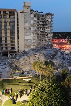 After a building collapse in Surfside, Florida, families of residents are praying for good news.