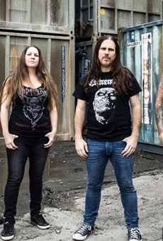 Friday, July 9: Gruesome (above), Intoxicated, Three Knuckles Deep, Human