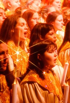 A recent announcement of holiday events at Walt Disney World did not include the Candlelight Processional.