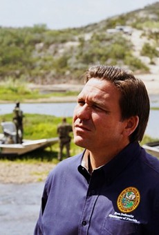 Gov. DeSantis still thinks masking in schools should be an individual decision.