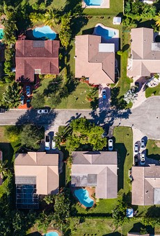 In Florida, 357,194 renter households are currently behind on rent, 48,969 less than in June, but still a staggering number.