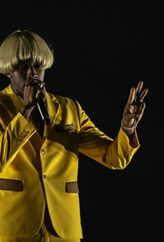 Tyler, the Creator at the Addition Financial Arenar in 2019