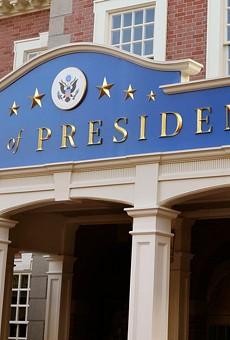 Joe Biden robot debuts at Disney's Hall of Presidents