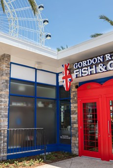 Gordon Ramsay Fish & Chips is now open at Orlando's Icon Park