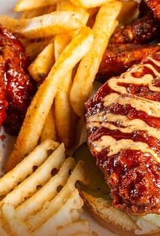 Wing It On's Nashville Hot offerings