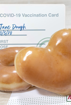 Krispy Kreme offering two free donuts per day to vaccinated customers