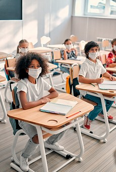 Federal education officials are 'closely monitoring' Florida school mask policies