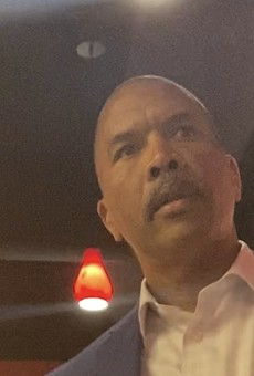 A video obtained by Spectrum News 13 shows Orlando Fire Chief Benjamin Barksdale fighting in a restaurant in Charlotte.