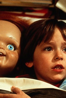 Chucky with Alex 'Andy Barclay' Vincent