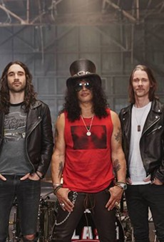 Guns N' Roses guitarist Slash to roll into Orlando's Hard Rock Live solo-style in 2022
