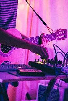 Local electronic musician Russell Parker to play the In-Between Series tonight