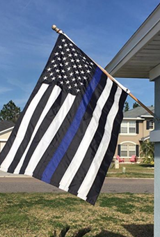 Florida woman told to remove Blue Lives Matter flag because of HOA rules