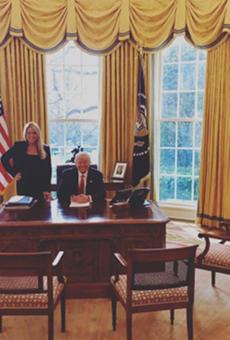 Is Pam Bondi moving to Washington?