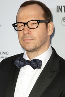 Donnie Wahlberg is visiting the Waterford Lakes Wahlburgers this week