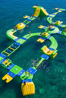 Lake Nona may soon get a floating water park