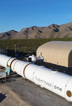 Hyperloop One's Nevada test facility