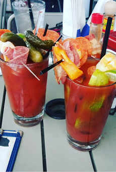 The build-your-own Hammered Lamb Bloody Mary