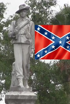 Orlando residents call for removal of Confederate statue at Lake Eola
