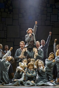 The cast of Matilda: The Musical, playing now through May 14 at the Dr. Phillips Center.
