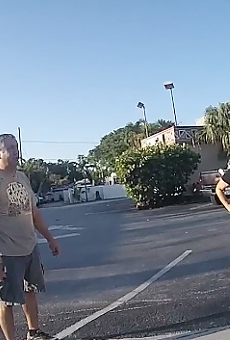 A Florida cyclist hit by a truck is being deported after deputy asks if he's 'illegal'