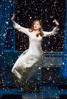 Christine Dwyer as Sylvia Llewelyn Davies in Finding Neverland