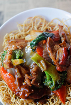 Crispy Cantonese Noodles