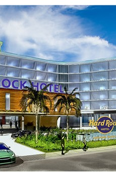 Hard Rock Hotel Daytona Beach concept art