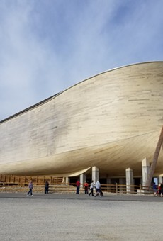 Watch out, Orlando, the Ark Encounter in Kentucky has a diner and a petting zoo