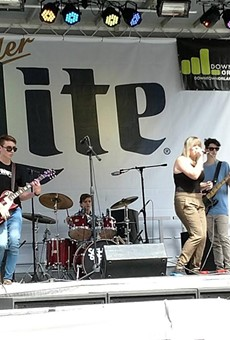 School of Rock House Band at Florida Music Festival