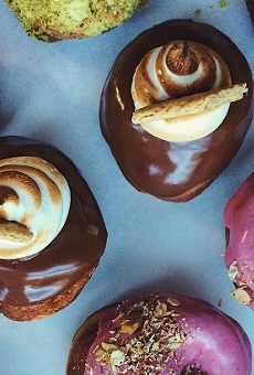 Orlandough craft donuts pops up at New General on Saturday