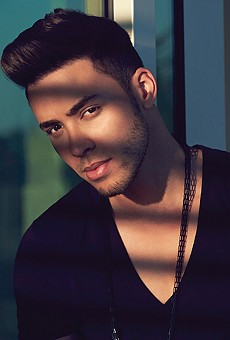 Prince Royce bachatas his way onto the Amway Center stage this weekend