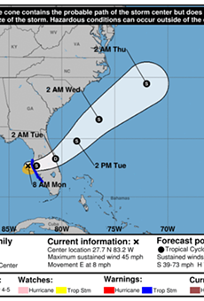 Rick Scott declares state of emergency as Tropical Storm Emily approaches